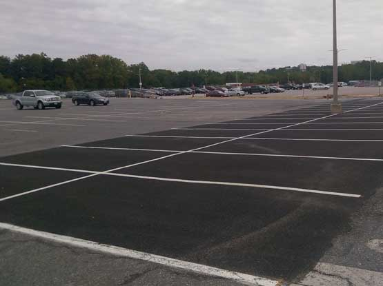 Permeable Pavement Parking Lot Retrofit